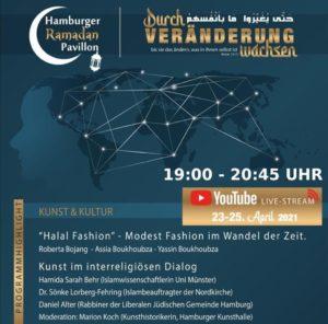 Hamburger Ramadan Pavillon 2021 – Tag 1